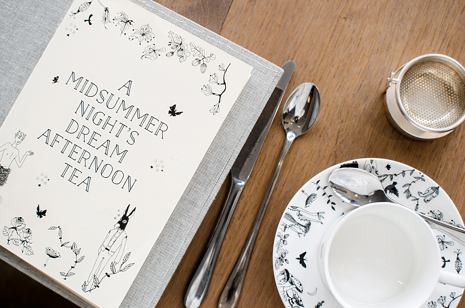 Midsummer Night's Dream Afternoon Tea
