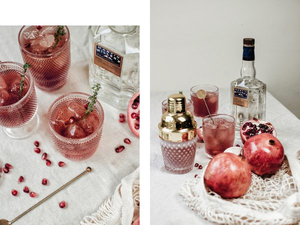 Pomegranate Gin and Tonic: Westbourne Dry Gin